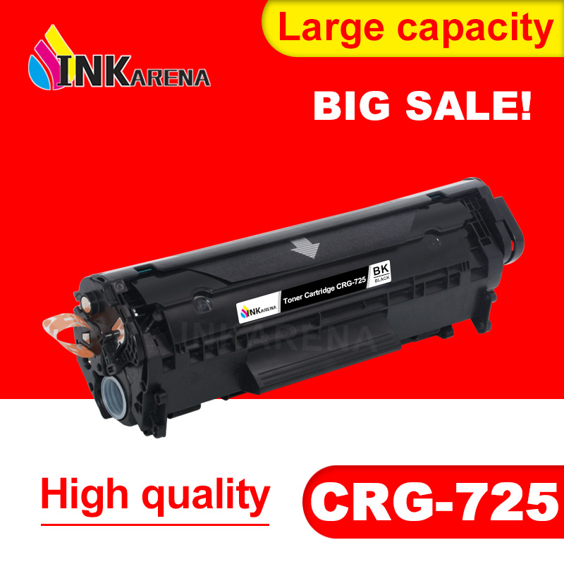 INKARENA for <font><b>Canon</b></font> CRG725 CRG 725 Compatible Toner Cartridge image CLASS <font><b>LBP6000</b></font> LBP6018WL LBP6030w MF3010 Printer Black image