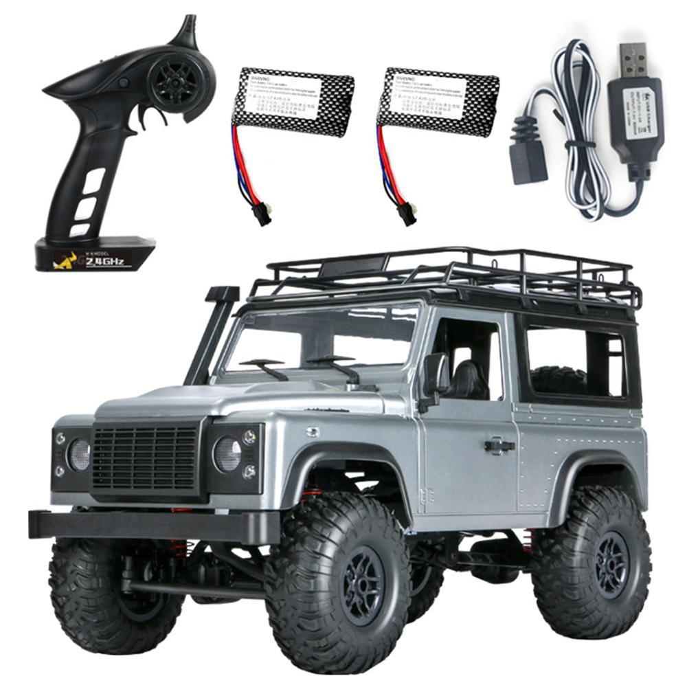 MN 99s 2.4G 1/12 4WD RTR chenille RC voiture télécommande tout-terrain Buggy jouet cadeau pour L et Rover modèle de véhicule