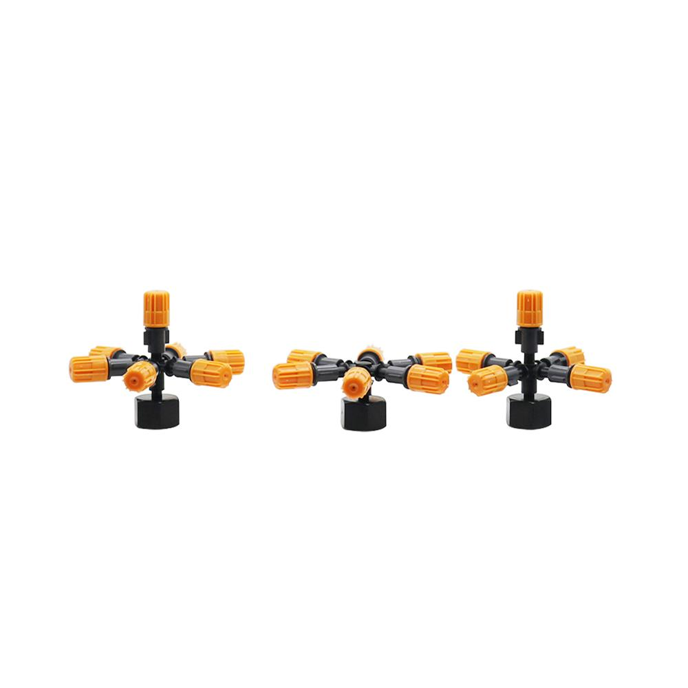 1 Set Multi-nozzle Misting Nozzles Sprinklers With 1/2