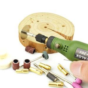 Image 5 - NEWACALOX DIY מיני רוטרי כלי USB DC 5V 10W משתנה מהירות אלחוטי חשמלי מטחנות סט עץ גילוף עט עבור כרסום חריטה