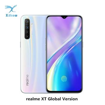 Global Version Realme XT 8GB RAM 128GB ROM NFC Mobile Phone Snapdragon 712 AIE 64MP Quad Camera 4000mAh VOOC Smartphone