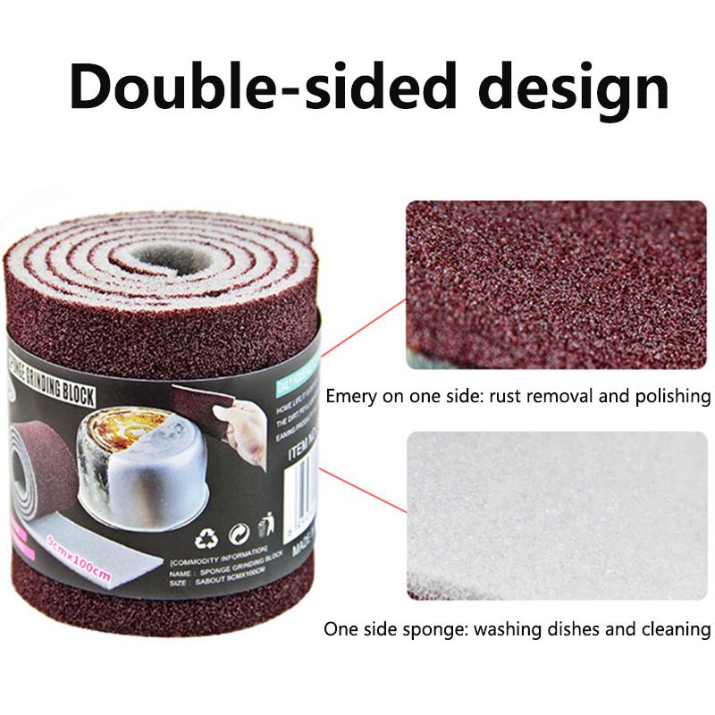 Kitchen Magic Sponge Eraser Emery Melamine Sponge for Removing Rust Pan Pot Dish Cleaning Brush Bathroom Kitchen Accessories