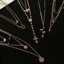 Luokey Choker Necklace Jewellery…