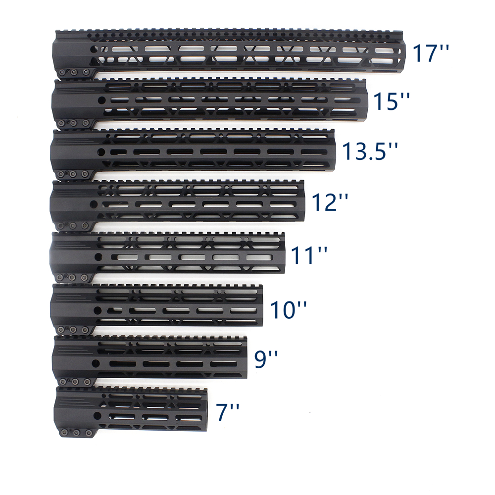 AR-15 M4 M16 M-LOK Free Float Handguard Clamping Style Bracket Hunting Steel Barrel Nut for Scope Mount fit .223 5.56(China)