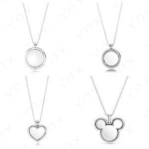 YDX, ожерелье из стерлингового серебра 925 пробы, ожерелье с подвеской в виде цепочки, ожерелье для женщин, подарок на свадьбу, модные ювелирные...