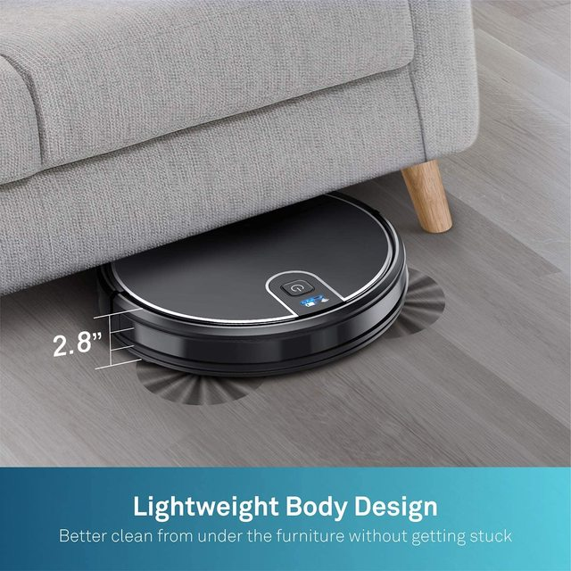 MT-710 Wi-Fi Robot Vacuum Cleaner 1800PA Suction Smart Memory Smart Life App Control Self-Charging Robotic Vacuum 4