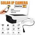 Solar WiFi IP Kamera 1080P HD Outdoor Akku Drahtlose Überwachungs Kamera Passive Infrarot Motion Erkennung Kugel-in Überwachungskameras aus Sicherheit und Schutz bei
