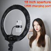 18 дюймовый светодиодный кольцевой светильник с Трипод 65 Вт