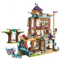 10859 compatível legoinglys amigos 730 pçs brinquedos para crianças meninas série casa amizade conjunto blocos de construção tijolos crianças presentes