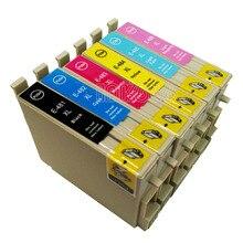 T0481 чернильный картридж для стилусы фото R200 R300 R340 R300 R300M R320 RX500 RX600 RX620 RX640 принтер T0481-T0486