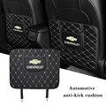 2 шт., защитный коврик для заднего сиденья автомобиля Chevrolet Cruze Aveo Captiva Lacetti Malibu Niva Trax Onix