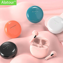 Alatour Wireless Headphones Bluetooth 5.0 Earphones sport Earbuds Headset pro6 Charging box Headphones For all smartphones