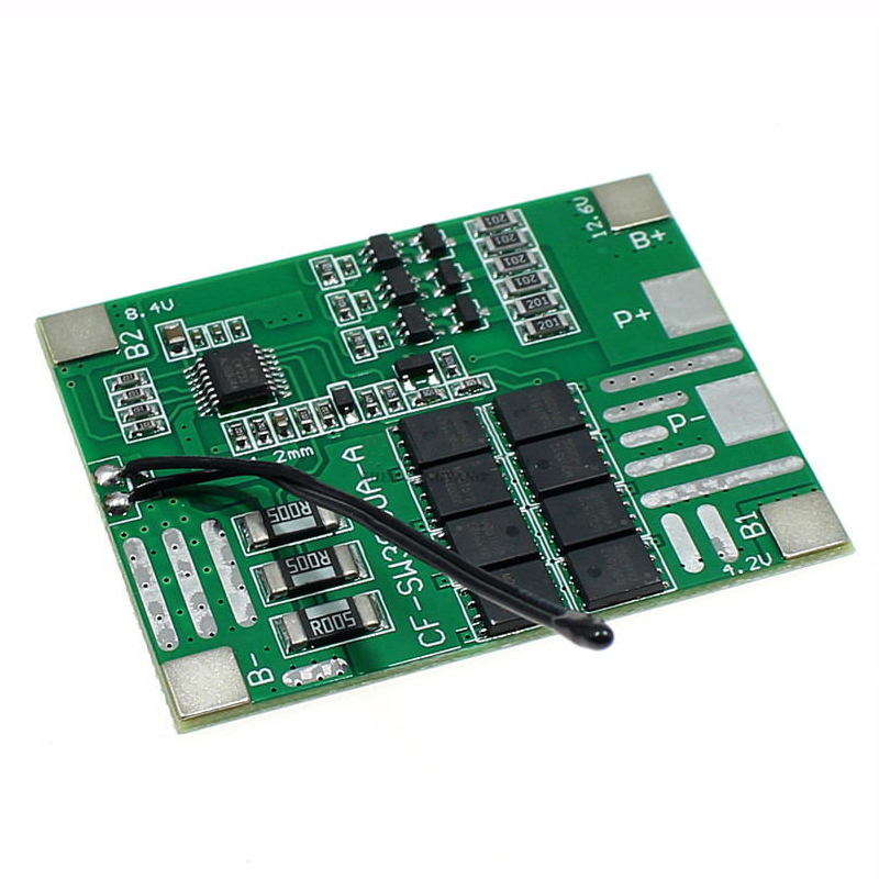 12V 30A 3S Lithium Battery Power Tools 18650 Protection Board LED Lights Solar Street Llight PCB BMS Board