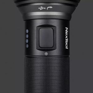 Image 4 - Youpin NexTool S.O.S Taschenlampe 380m USB Aufladbare 5 Modi IPX7 Wasserdichte LED Taschenlampe Typ C Suche Taschenlampe für camping