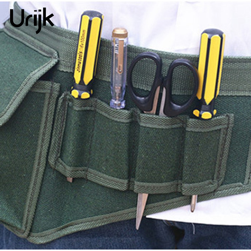 Urijk Waist Tool Bags Pocket Tool Belt Pouch Bags For Tool Portable Electricians Tool Pouch Kit Bag High Quality Multifunction