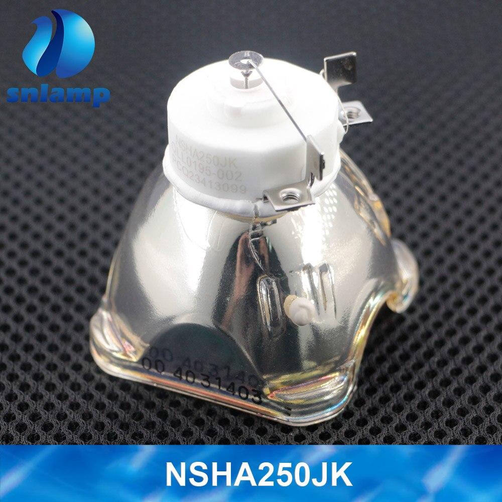 Original Projector Lamp Bulb For PK-L2615U / PK-L2615UG For JVC DLA-RX400/RS500/RS600/X5000/X5500/X550R/X7500/X9500 NSHA250JK