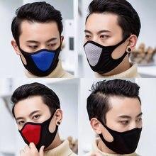 Unisex respirável boca máscara facial lavável algodão máscaras equipamento de viagem esportes ao ar livre trabalhando correndo caminhadas cyling máscara facial