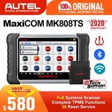 AUTEL MaxiCOM MK808TS TPMS automotive diagnostic tool TPMS programming tool tire pressure tool obd2 scanner pk mp808ts mk808bt