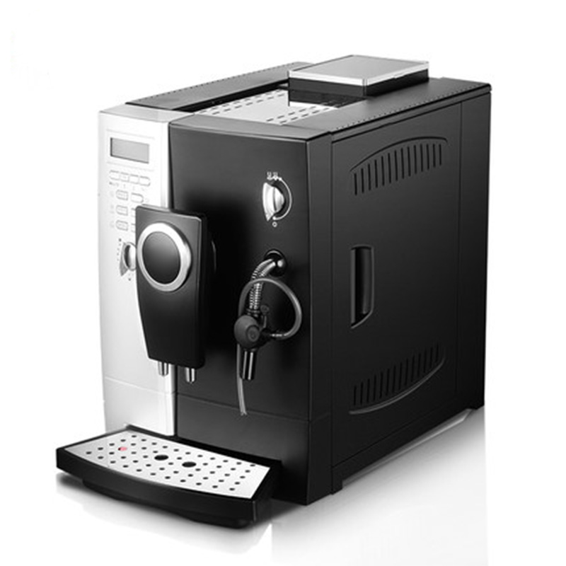 CLT Q003 smart coffee machine  home automatic pump type coffee machine 2 in 1 grinding espresso  machine milk foam maker 220v|Coffee Makers| |  - title=