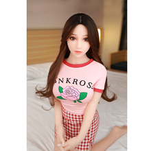 158cm Size TPE with Metal Skeleton Love Doll Lovely Girl Real Silicone Sex Dolls for Men Realistic Sex Dolls цены онлайн