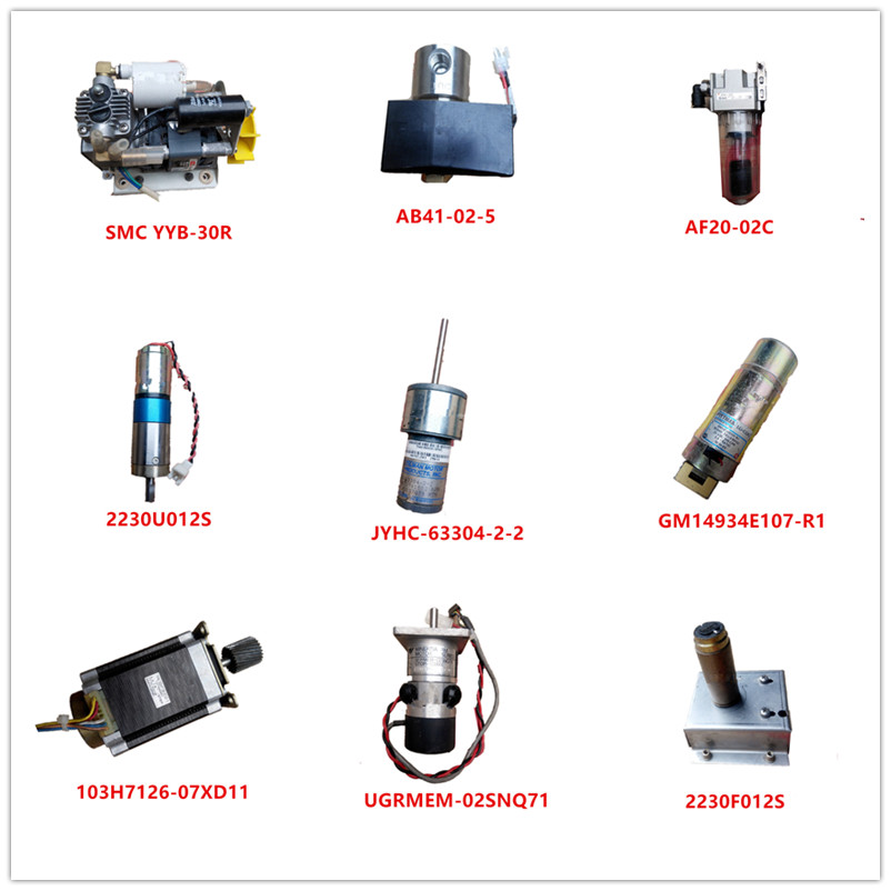 YYB-30R| AB41-02-5| AF20-02C| 2230U012S| JYHC-63304-2-2| GM14934E107-R1| 103H7126-07XD11| UGRMEM-02SNQ71| 2230F012S Used