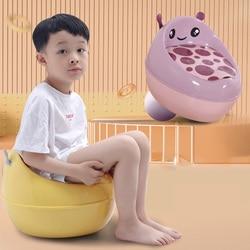 Orinal de viaje portátil para niños, orinal móvil para bebé, urinario para niño pequeño, asiento de entrenamiento para el baño, colcha para 1-6 años