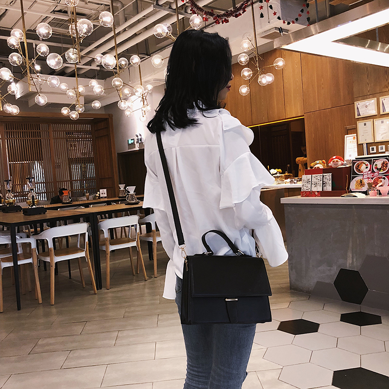 Image 5 - Fashion Brand Women Shoulder Bag Luxury 2019 Designer Small Crossbody Bags PU Leather Purses And Handbags Travel Messenger Bag-in Shoulder Bags from Luggage & Bags