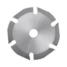 125mm Multitool Grinder Saw Disc 6T Kreissäge Klinge Hartmetall Holz Schneiden Disc Carving Disc Klingen für winkel Mühlen