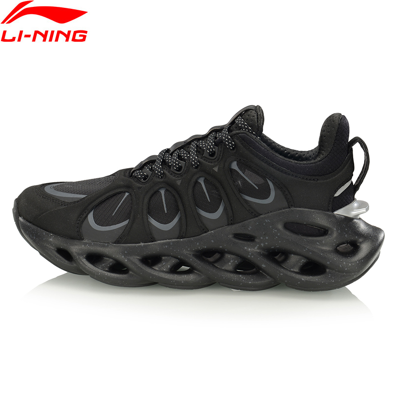 Li-Ning 2019 NYFW <font><b>Women</b></font> LN ARC ACE Running <font><b>Shoes</b></font> Cushion LiNing li ning Fitness Hollow-Out Sport <font><b>Shoes</b></font> Sneakers ARHP226 XYP950 image