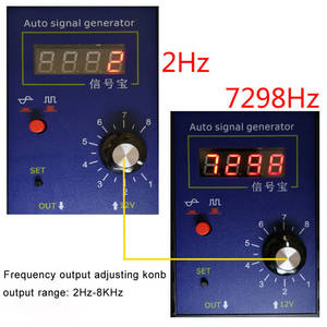 Image 2 - Auto Voertuig Signaal Simulator Generator Auto Hall Sensor En Krukas Positie Sensor Signaal Tester Meter 2Hz Tot 8 Khz