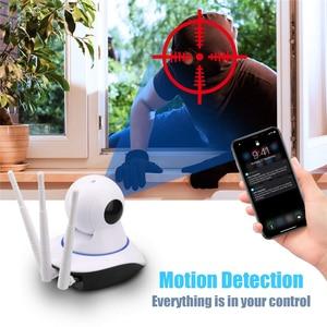 Image 3 - HD 1080P 720P bulut Wifi IP kamera akıllı otomatik izleme P2P IR Cut güvenlik kamera bebek izleme monitörü gece görüş ev kamerası