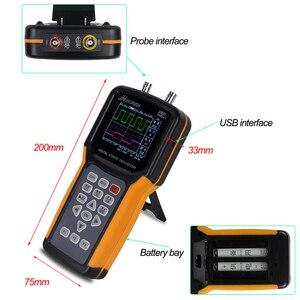 Image 3 - KUAIQU Tragbare Oszilloskop JDS2022A 20MHz Bandbreite 2 Kanal Handheld Digital Oszilloskop 200MSa/s Probe Rate