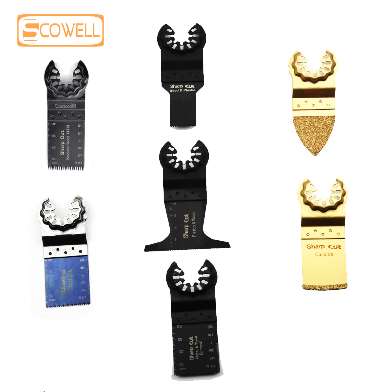 30% OFF FREE SHIPPING 1pack Starlock Oscillating Multi Tool Saw Blades Triangle Carbide Multimaster Power Saw Blades