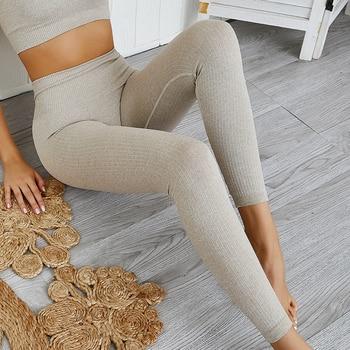 Gym Seamless Leggings Sport Women Fitness Yoga Pants Women High Waist Gym Leggings Women Sweatpants Gym Workout Scrunch Leggings 1