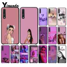 Yinuoda Ariana Grande-7 Ringe Coque Shell Telefon Fall für Huawei P9 P10 Plus Mate9 10 Mate10 Lite P20 Pro Honor10 view10 Coque(China)