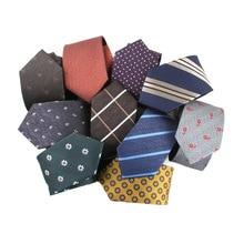 Necktie Party-Dress Gravatas Custom-Logo Jacquard Business Formal Men's Polyester Linbaiway