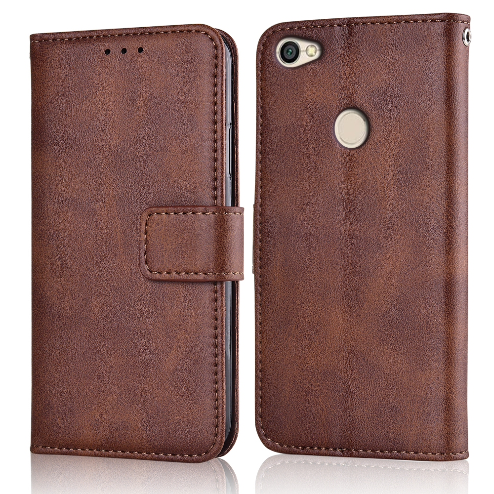 Flip Leather Wallet Case for On <font><b>Xiaomi</b></font> Redmi Note 5A Prime Case Redmi Note 5A <font><b>32G</b></font> Case Back Cover On Redmi Note 5A Pro 64G Case image