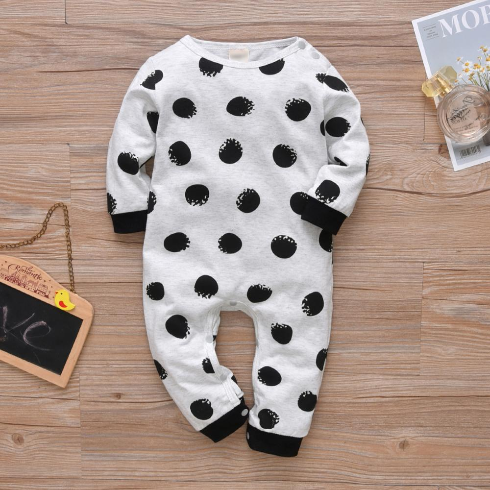 Newborn Baby Boys Girls Romper Infant Clothes Long Sleeve Letter IT WASN'T ME Jumpsuit Autumn Baby Clothing Toddler Outfits | Happy Baby Mama