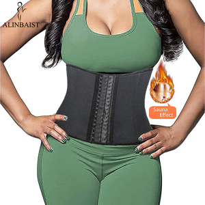 Image 3 - Waist Trainer Belt Neoprene Workout Body Shaper Weight Loss Fitness Fat Burner Trimmer Band Back Support Waist Cincher Shapewear
