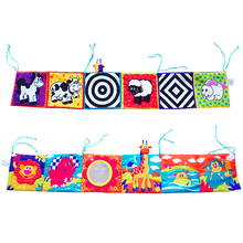 Toys Cloth-Book Soft Bumper Rattle Crib Early-Learning-Toys Gift Around Colorful Newborns