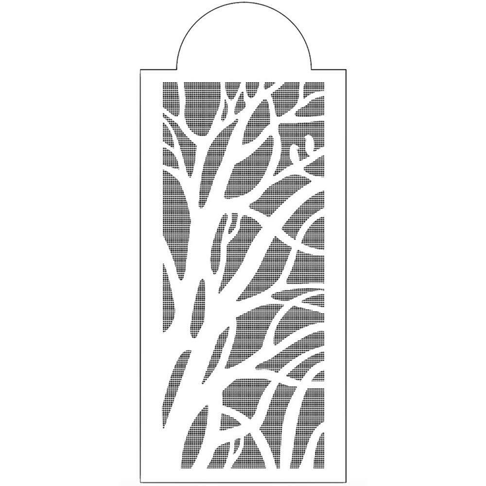 Tree Branches Reusable Stencil Airbrush Painting Art Cake Spray Mold DIY Decor Crafts
