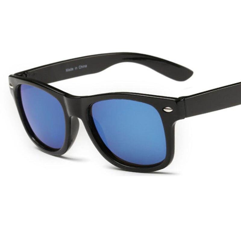HOOLDW New Fashion Children Sunglasses Cool Kids Boys Girls Travel Sun Glasses UV400 Protection Baby Anti-uv Shades Eyewear