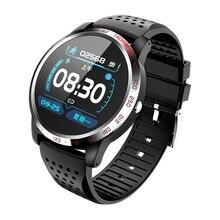 Reloj inteligente W3 ECG PPG SpO2 HRV para hombre, dispositivo electrónico para medir la presión sanguínea y el ritmo cardíaco