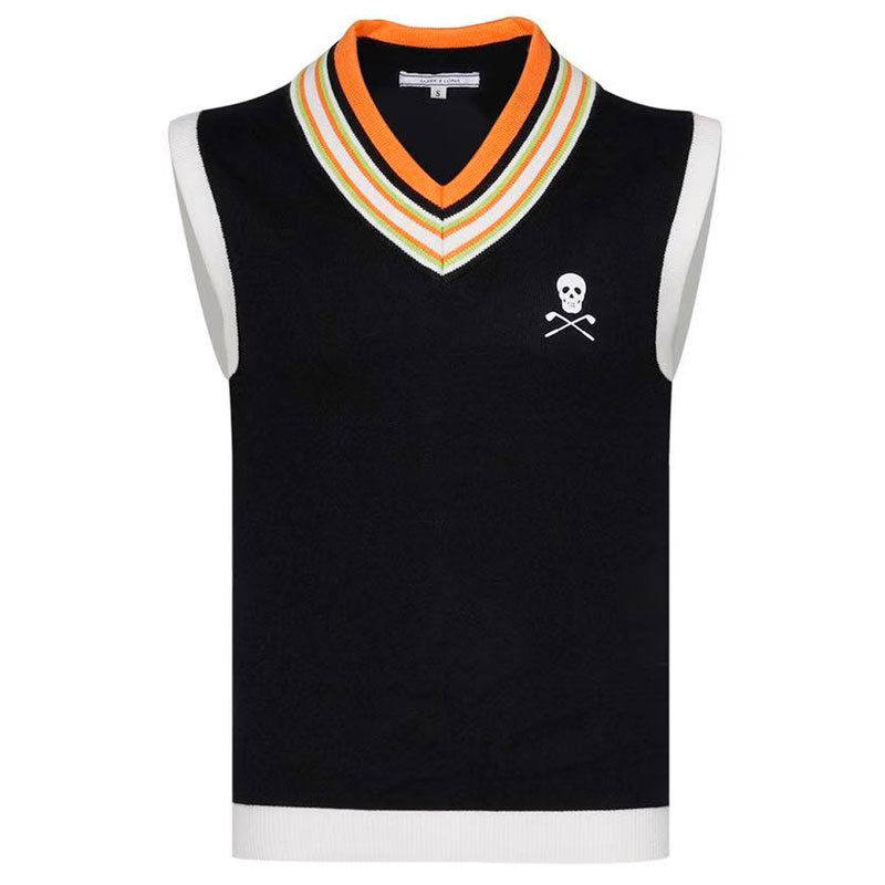 Men New Sport Sleeveless Vest MARK&LONA Golf Sweater Vest 3 Color Golf Clothes S-XXL Sporin Choice Leisure Golf Vest