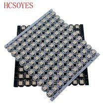 100x WS2812B LED With Heatsink (10mm*3mm) DC5V 5050 SMD RGB WS2811 IC Built-in