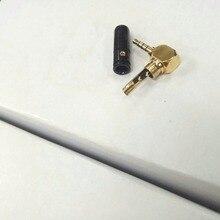 10 шт Черный Мини покрытием 2,5 мм 4-полюсный разъем адаптера пайки