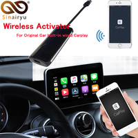 Sinairyu Wireless Carplay Car Play Activator Android Auto for Audi Mercedes Porsche Volkswagen Hyundai Volvo Cadillac (Pre Sale
