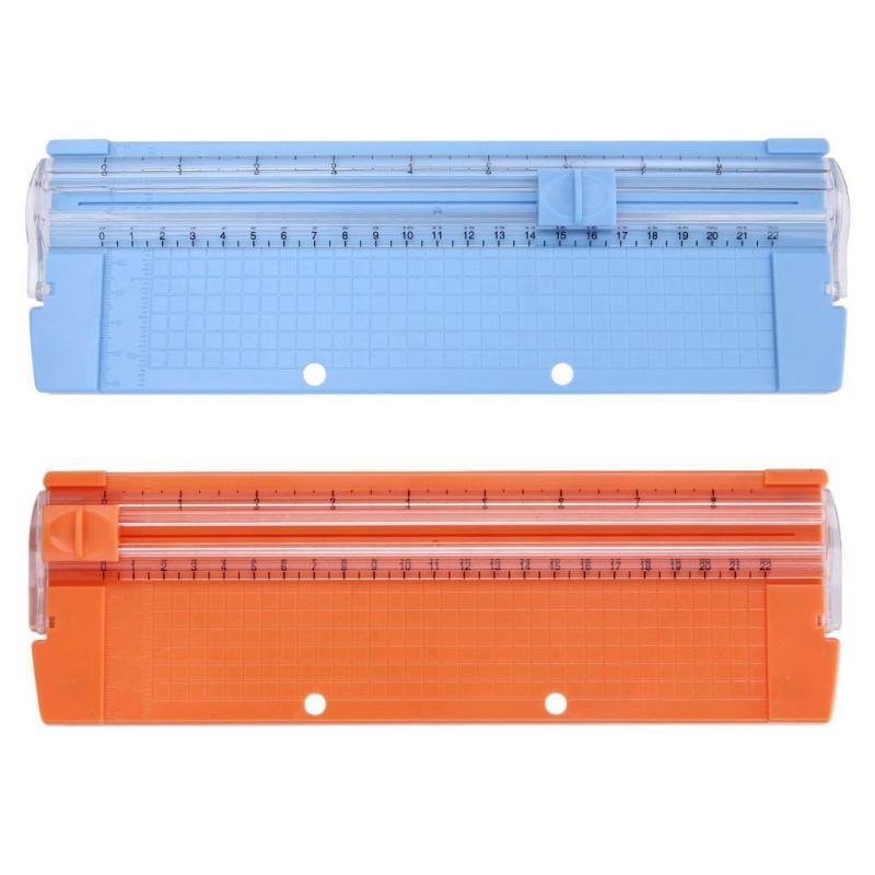 VODOOL A4/A5 Portable Paper Trimmer Scrapbooking Machine Precision Paper Photo Cutter Cutting Mat Machine Office Paper Trimmer
