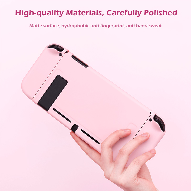 Image 2 - For Nintendo Switch Case Joy Con Controller Full Cover Shell Colorful Pink Hard Housing Shell For NintendoSwitch Game ConsoleCases   -
