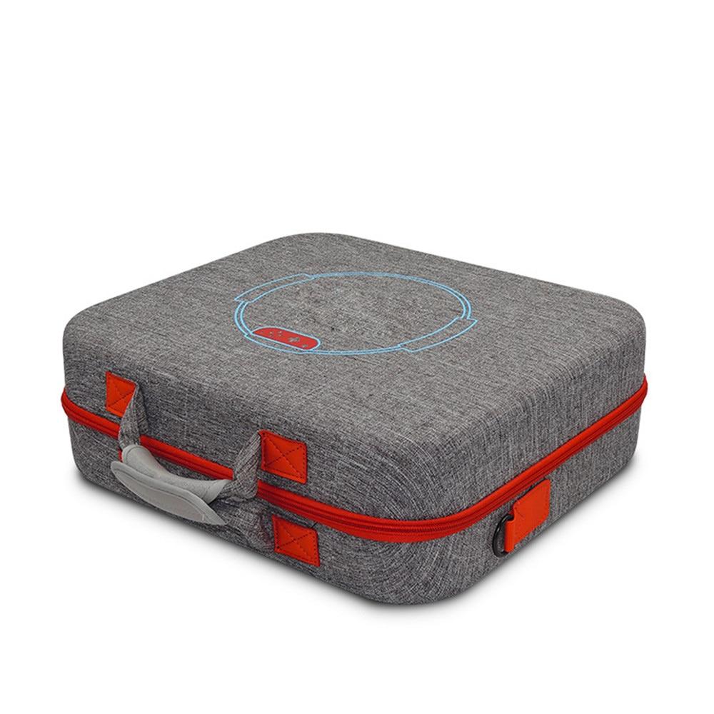 Sac de rangement dur portatif d'eva pour le sac de étui de protection de transport de voyage de câble de chargeur de contrôleur de jeu d'anneau de forme physique de commutateur de nintention - 1
